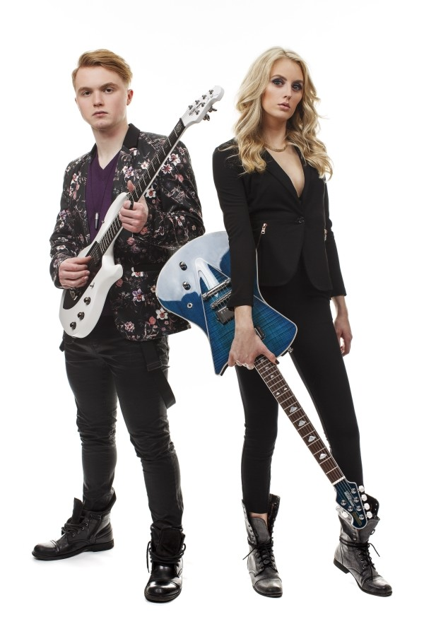Cole Schwartz and Liv Miner make up the pop/rock group Drayter.