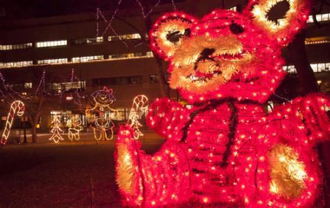 Jingle Bus explores light displays around city