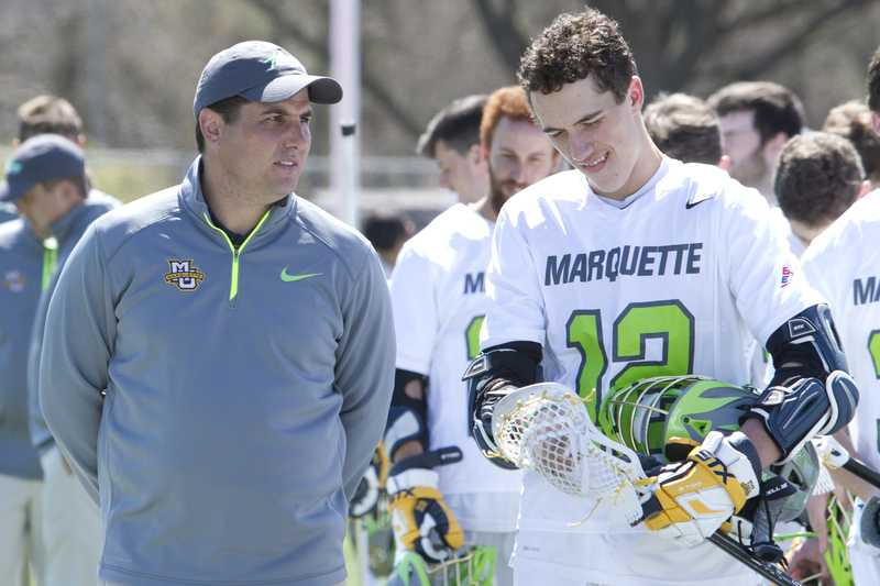 Amplo has been Marquette's only head coach in its short lacrosse history.
