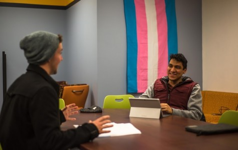Many LGBTQ students and their allies view both centers as a safe space. Photo by Nolan Bollier/ nolan.bollier@marquette.edu