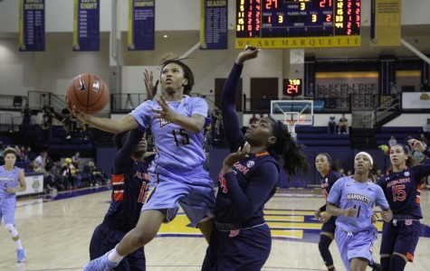 Women's basketball rallies for first BIG EAST win over Georgetown