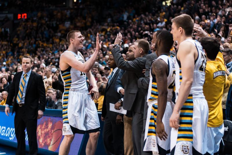 Ellenson+recorded+his+13th+double-double+Saturday+%28Photo+by+Mike+Carpenter%2Fmichael.carpenter%40mu.edu%29