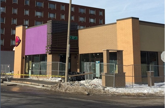 Taco Bell to reopen where old one was torn down