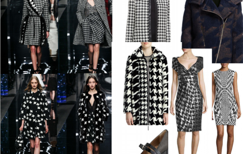 On Trend: houndstooth print