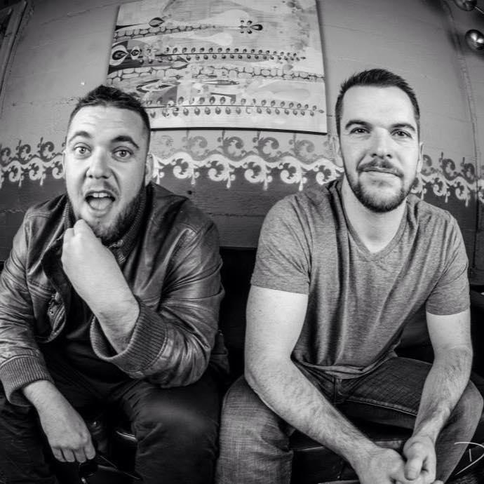 Matt and Mark Hill of the Floozies. Photo via: facebook.com/flooziesduo