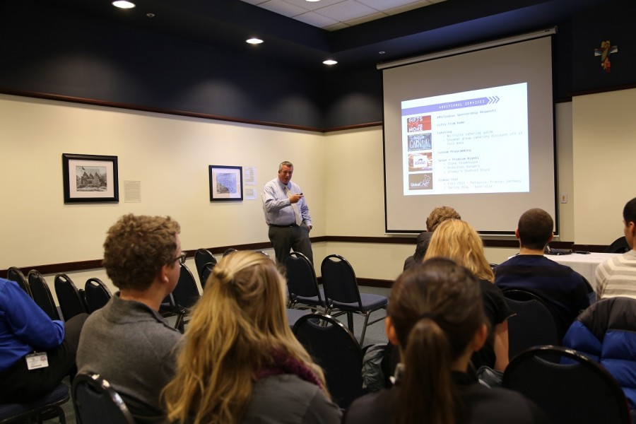Redesigning OZZI boxes, dining hall composting discussed at Sodexo food forum