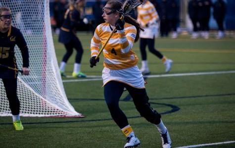 Women's lacrosse picks up first win of season
