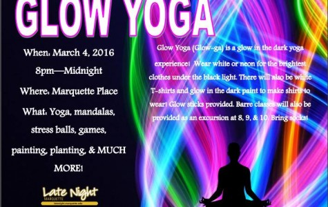Glow yoga offers fun, unique way to relax