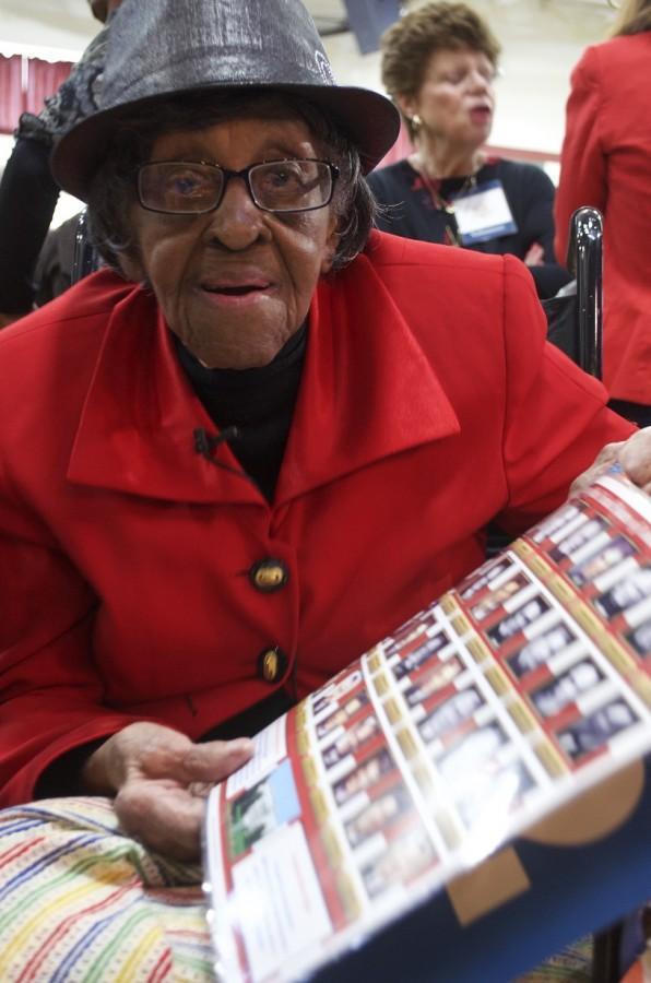 Kathleen+Cunningham%2C+a+101-year-old+Milwaukee+citizen.+Photo+by+McKenna+Oxenden+%2Fmckenna.oxenden%40mu.edu