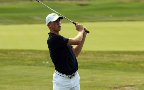 Farrell was named the BIG EAST Golfer of the Month in October (Photo courtesy of Maggie Bean/Marquette Athletics)
