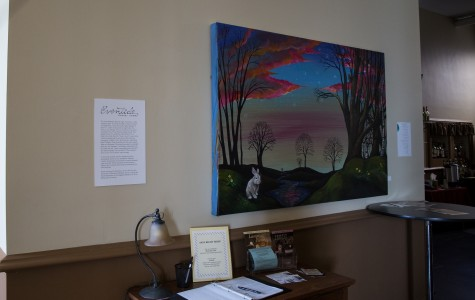 Local artist displays work in first solo show