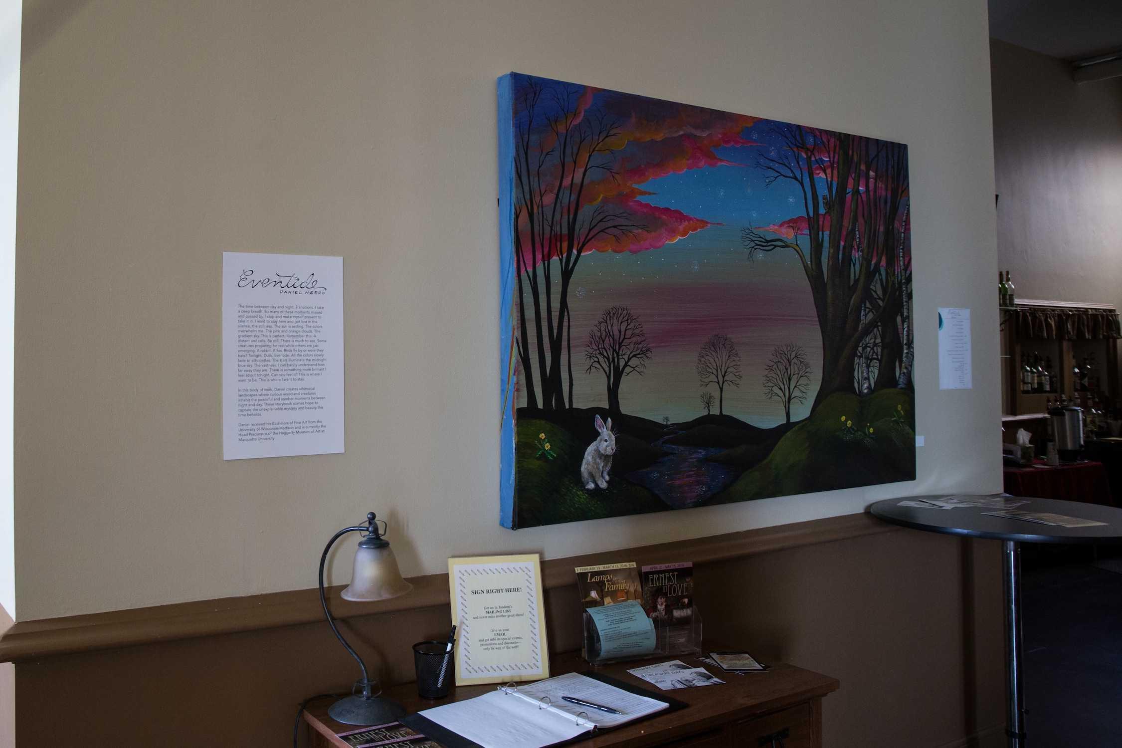 The exhibit,