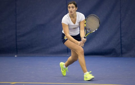 Women's tennis closes non-con with 3-1 mark while men go winless over break