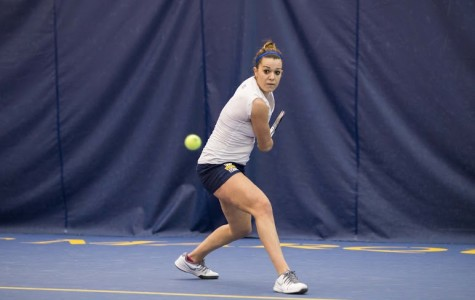 Tennis teams drop matches to ranked opponents