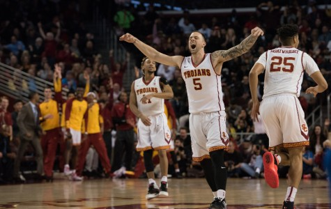 Reinhardt led USC in scoring last season with 12.5 points (Photo courtesy of Brian Chin/Daily Trojan)