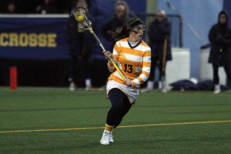 Shearer scored her 29th goal, a new MU record. (Photo courtesy of Doug Peters/Marquette Images)