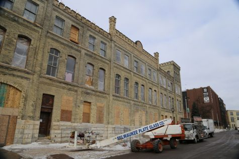 The Pabst Brewery is being transformed into student housing. The Eleven 25 Apartments are slated to open in August