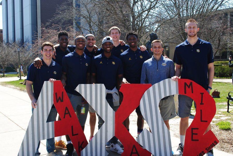 The men's basketball team. Photo courtesy of Amy Rothwell.