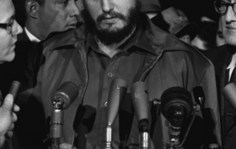 An old photograph of Fidel Castro when he visited the United States in 1959. Photo via www.wikimedia.org