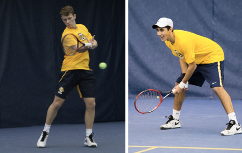 After slow starts, freshmen Verdu and Anderson leading men's tennis