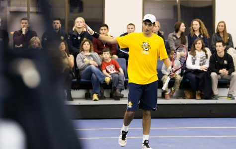 Men's tennis completes big comeback at DePaul