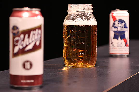 Schblast is the combination of Schlitz and Pabst.