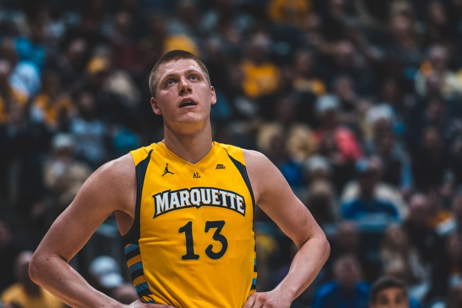 Marquette+basketball+graduate+Henry+Ellenson+is+making+his+presence+felt+in+NBA+Summer+League+action.