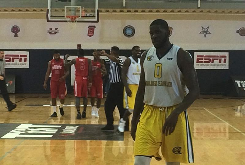 Jamil Wilson scored six points in the Golden Eagles final game at The Basketball Tournament.