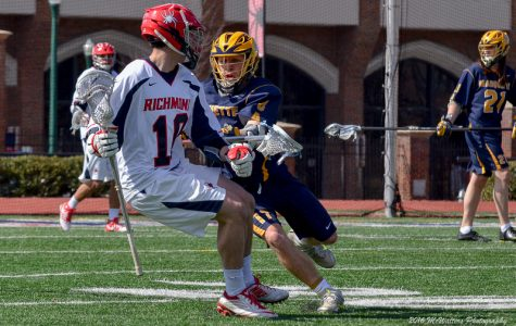 B.J. Grill is one of three Golden Eagles playing in Major League Lacrosse.