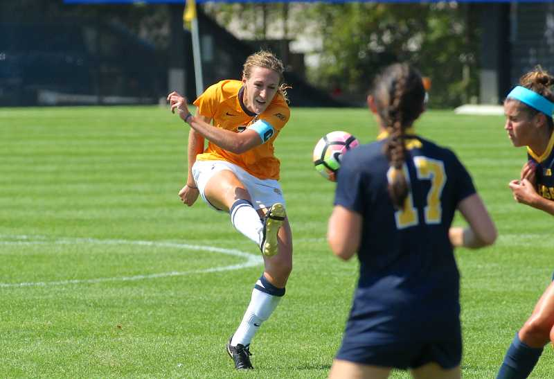 Morgan Proffitt played with the U.S. U-23 squad this summer.