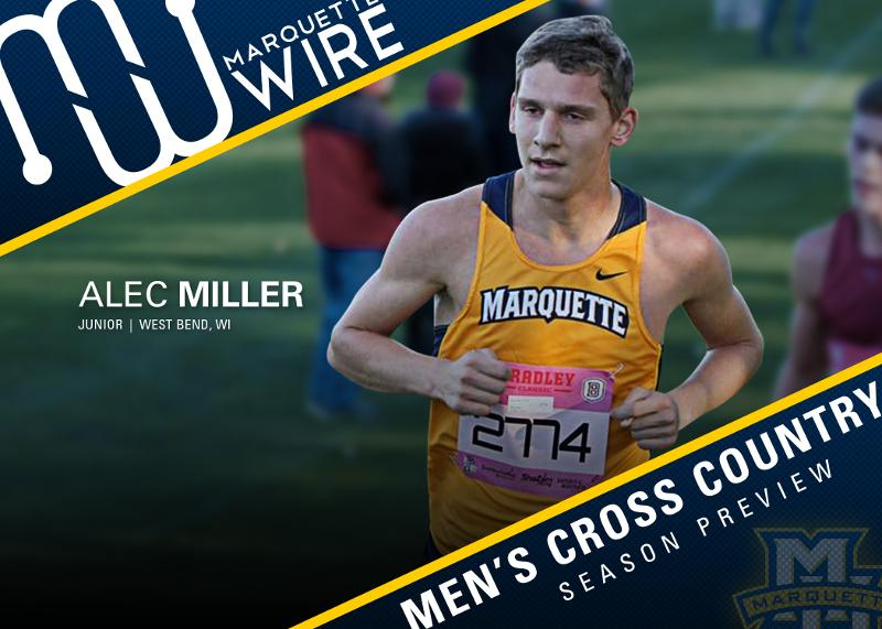 Alec Miller returns as the team's top runner.