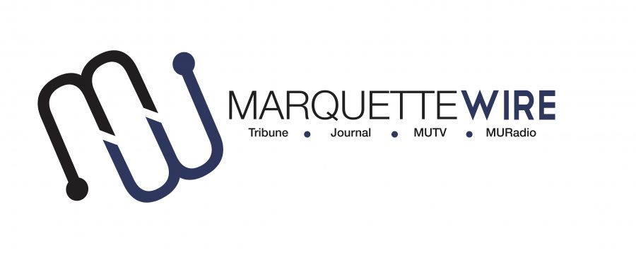 In+a+new+brand+of+student+media%2C+the+campus+newspaper%2C+magazine%2C+TV+and+radio+work+together+as+one+staff%2C+entering+our+fourth+year+as+the+Marquette+Wire.+This+is+the+new+logo%2C+designed+for+this+year.