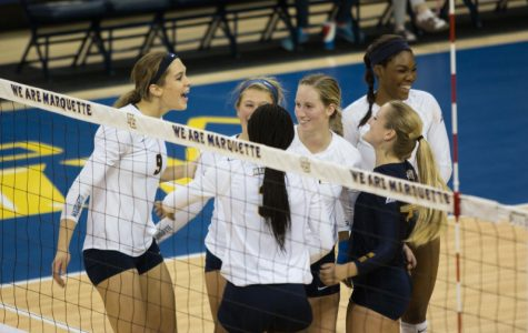 Victory against No. 7 USC highlights volleyball weekend