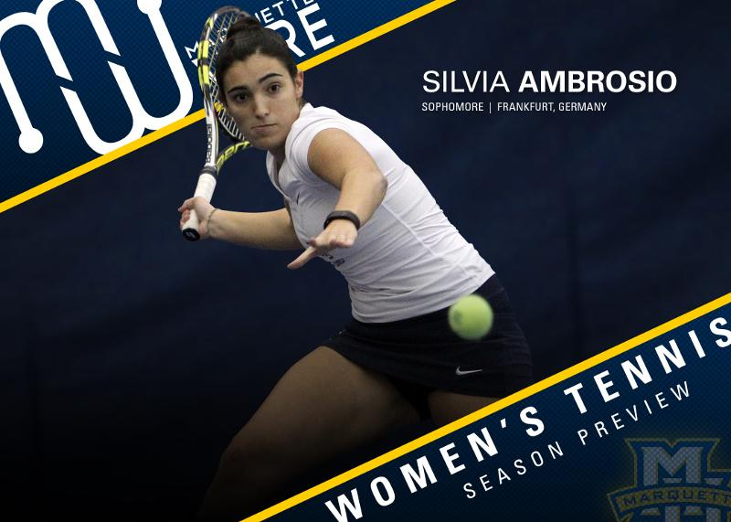 Silvia Ambrosio was last year's BIG EAST Freshman of the Year.