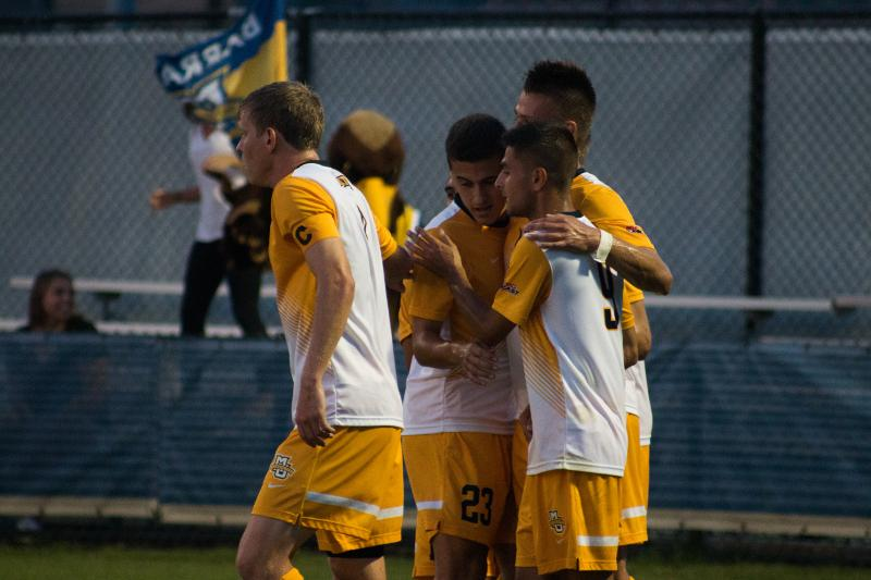 Marquette scored four goals three days after a 4-0 loss to Kentucky.