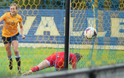 Morgan Proffitt scored Marquette's lone goal, her second of the year.