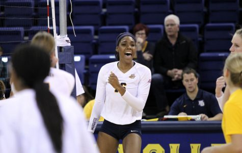 Volleyball takes down Iowa State in straight sets