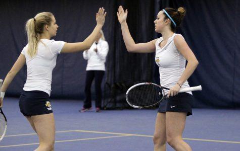 Diana Tokar and Paula Tormos Sanchez were named the tournament's Women's Doubles Champions.