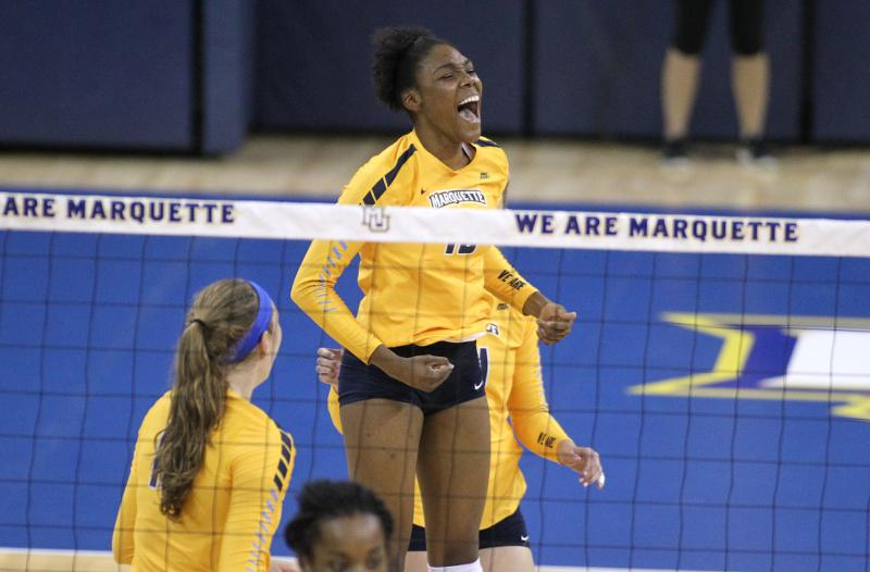 Marquette+Women%27s+Volleyball+vs.+Iowa+State
