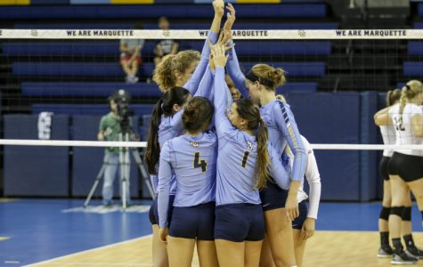 Volleyball splits opening BIG EAST weekend