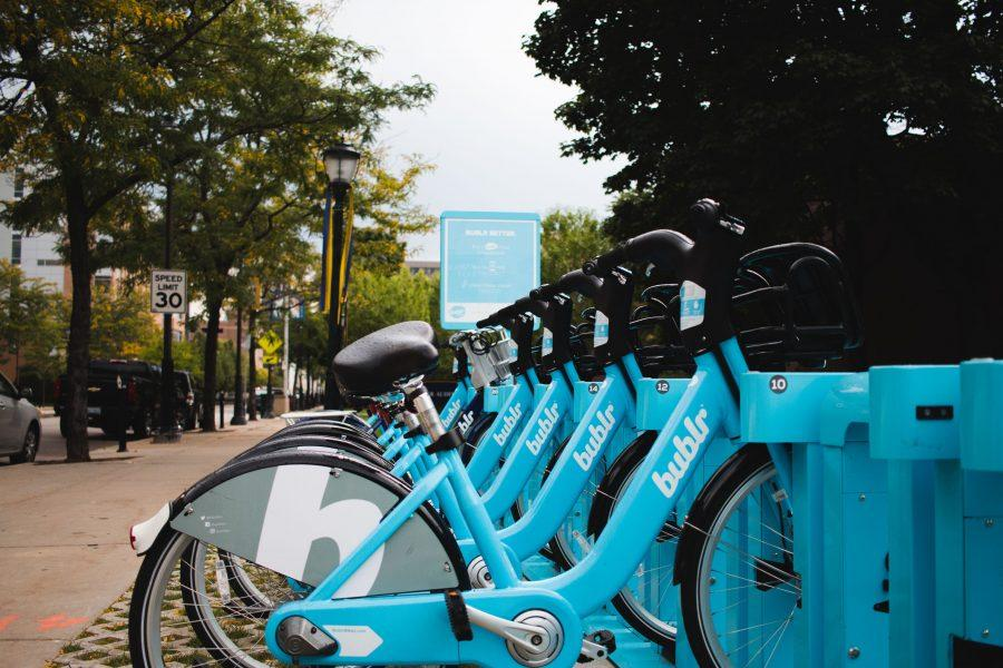 The+Bublr+bikes+are+popular+among+students+looking+to+quickly+and+easily+get+around.