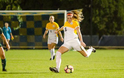 Meegan Johnston scored two goals against CSUN last weekend.