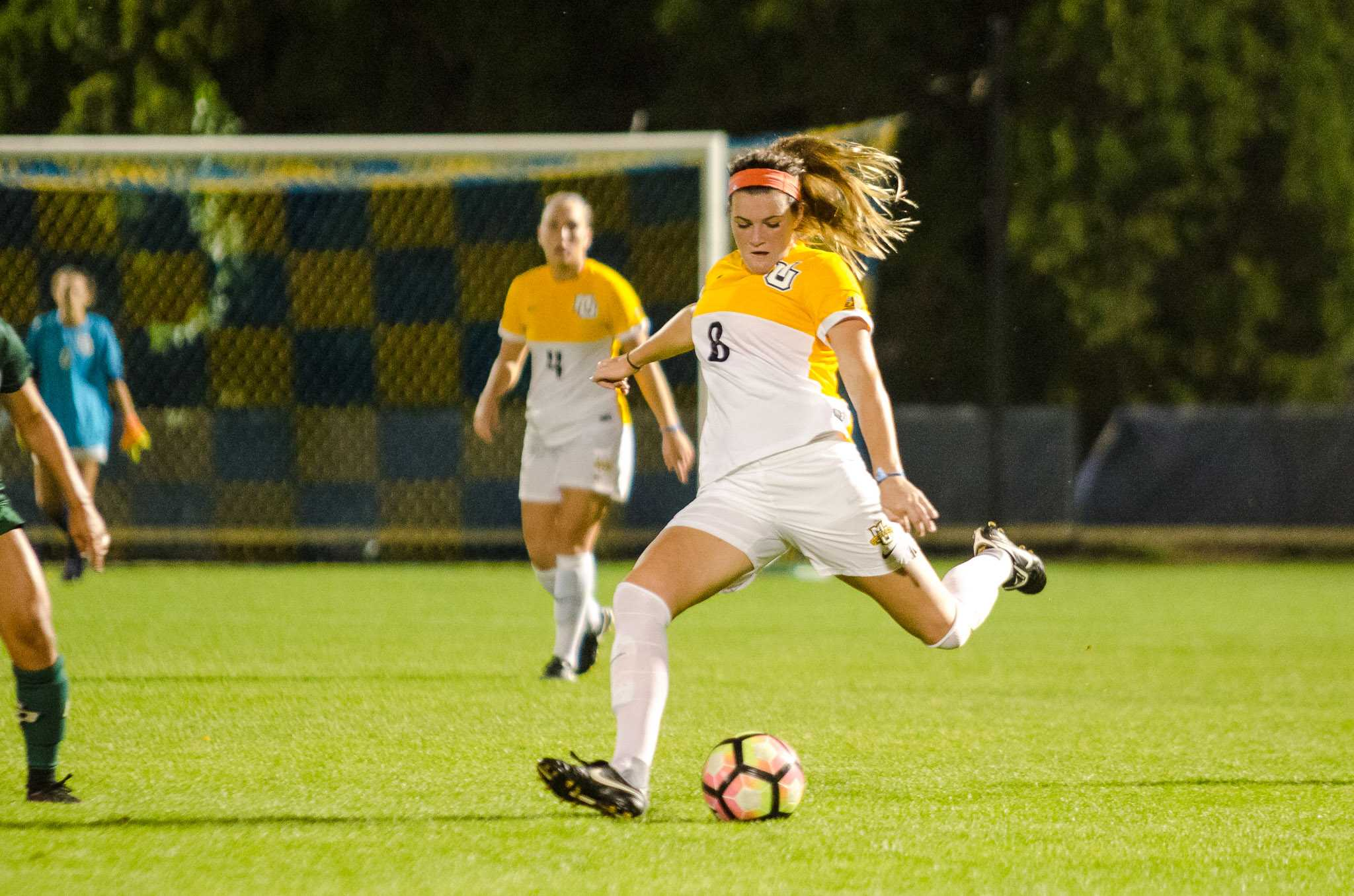Meegan Johnston scored two goals against CSUN last weekend.