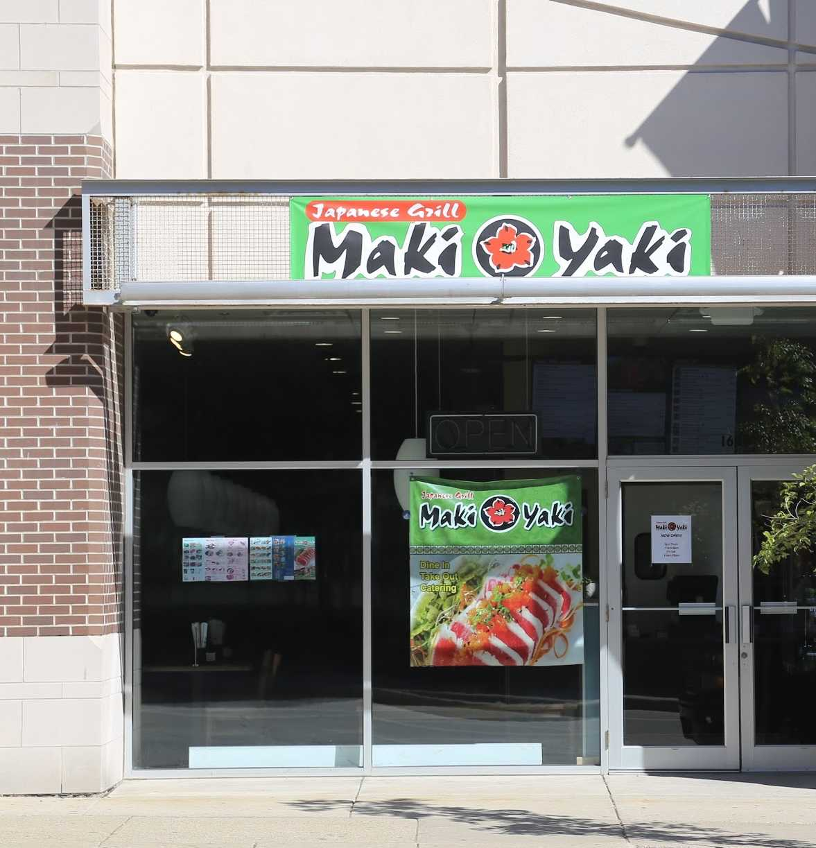 Maki Yaki Japanese Grill caters to students' appetites through low prices and prime on campus location.