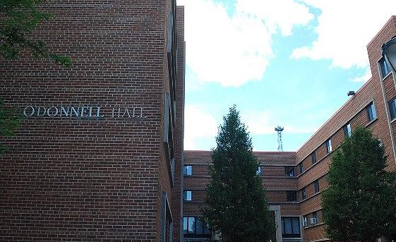 O'Donnell Hall was converted from male-only to co-ed this year.