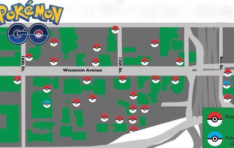 Pokemon craze invades campus