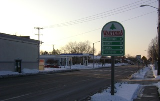 Morgan's hometown of Wautoma, Wisconsin has a population of 2,218.
