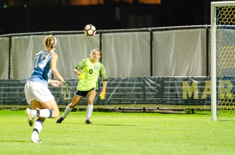 Henry makes eight saves in loss at Northwestern