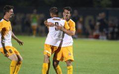 Men's soccer stuns Xavier 4-1