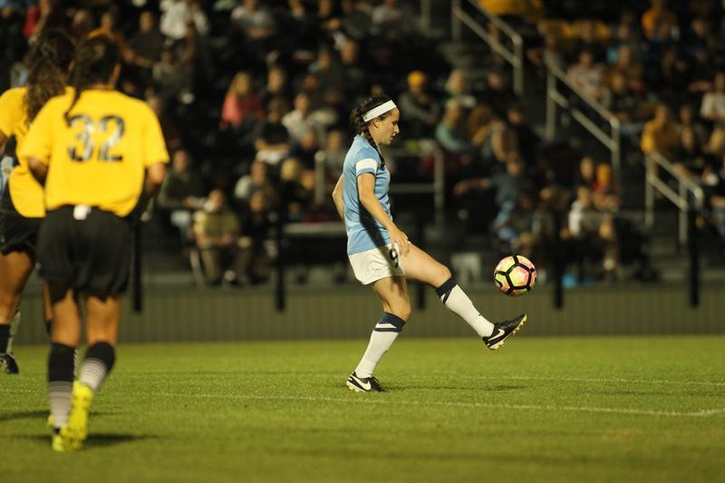 Eli Beard's game-winning goal was her first tally of the season.